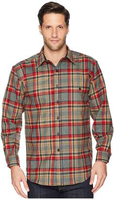 Pendleton L/S Trail Shirt w/ Elbow Patch Men's Long Sleeve Button Up