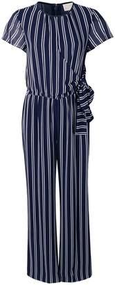 MICHAEL Michael Kors Striped Georgette jumpsuit