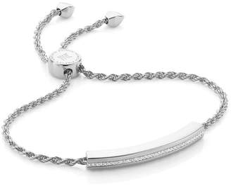 Monica Vinader Linear Diamond Chain Bracelet