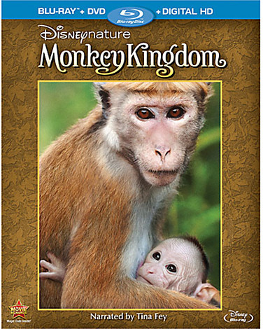 DisneyNature: Monkey Kingdom Blu-ray Combo Pack