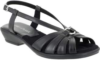 Easy Street Shoes Wishbone Silhouette Sandals - Amy