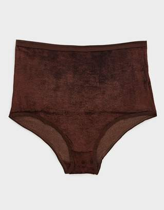 Base Range Baserange High Waisted Bell Panty in Turnip Brown