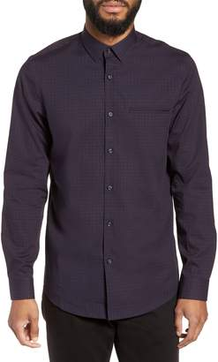 Calibrate Slim Fit Print Non Iron Sport Shirt