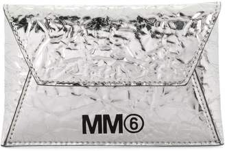 MM6 MAISON MARGIELA square envelope clutch bag