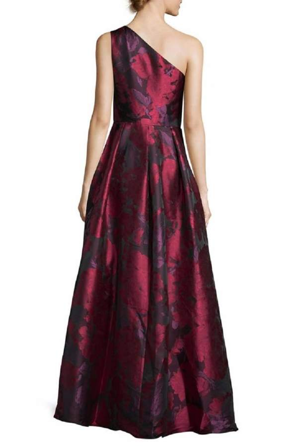 Carmen Marc Valvo Floral Ball Gown