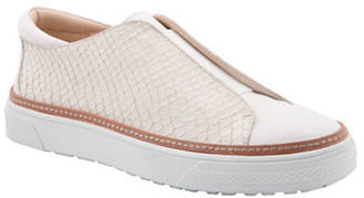 Delman Minx Leather Slip-On Sneakers $248 thestylecure.com