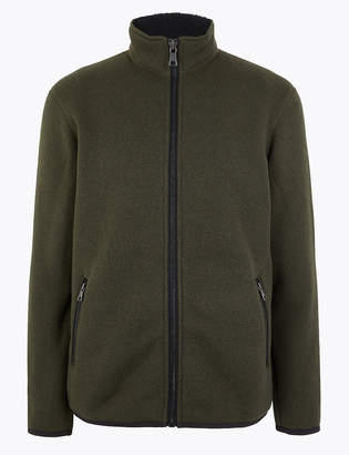 Marks and Spencer Knit Mix Sweatshirt