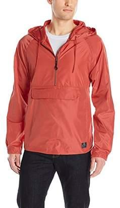 William Rast Men's Travis Packable Anorak Jacket
