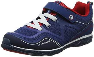 pediped Boys' Force Trainers, (Blue Red), 7 Child UK 24 EU
