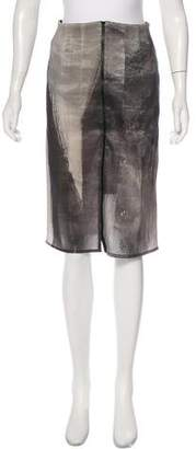 Görtz Annette Printed Pencil Skirt
