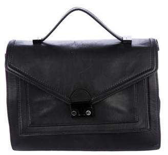Loeffler Randall Leather Rider Satchel