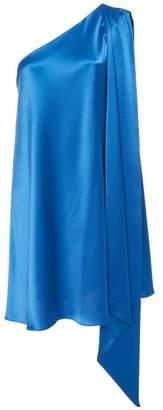 M Blue Mestiza New York Naomi One Shoulder Mini Dress