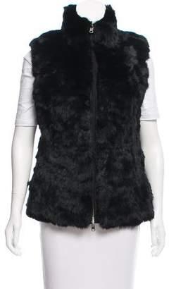 Glamour Puss Glamourpuss Reversible Fur Vest
