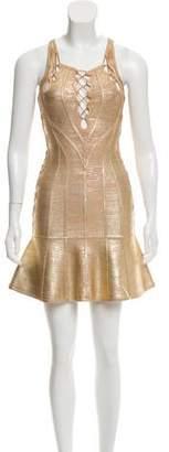 Herve Leger Audrianna Bandage Dress