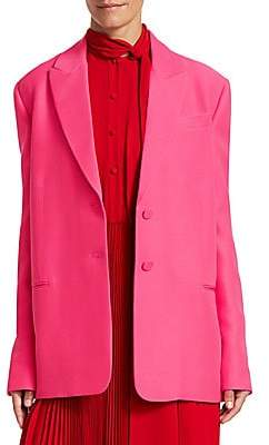 Valentino Women's Oversize Single Breasted Blazer