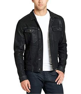 William Rast Men's Erwin Coated Denim Jacket