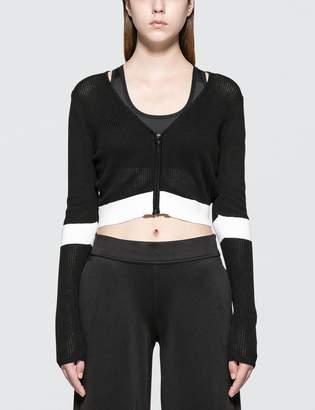 Calvin Klein Color Block Crop Jacket