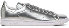 adidas Perforated Metallic Faux Leather Sneakers
