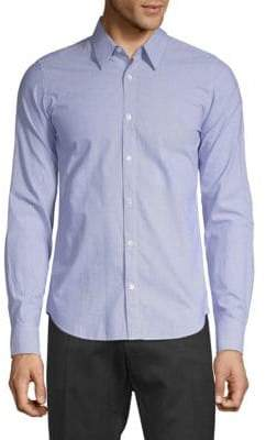 Dries Van Noten Fine Stripe Sport Shirt