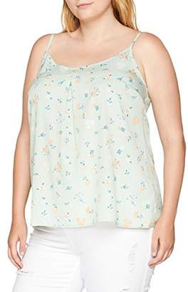 Simply Be Women's Cami Top Regular Fit Floral V-Neck Sleeveless Vest Top