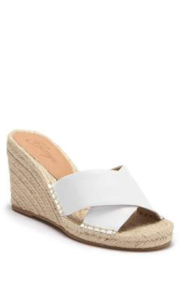 Bettye Muller Hanna Leather Wedge Sandal