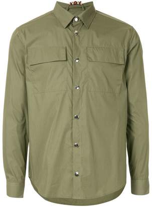 MSGM snap button shirt