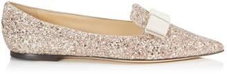 Jimmy Choo Gala Glitter Flats