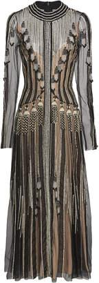 Temperley London Moonlight Beaded Organza Dress