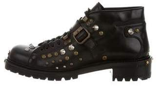 Miu Miu Embellished Ankle Boots w/ Tags