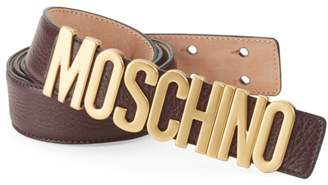 11aa2b9bd5d Moschino Belts For Men - ShopStyle UK