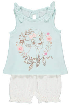 Disney George The Lion King Vest Top and Shorts Outfit
