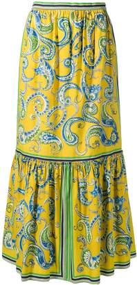 Philosophy di Lorenzo Serafini paisley skirt