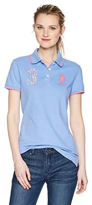 U.S. Polo Assn. Women's Short Sleeve Solid Shirt