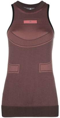 adidas by Stella McCartney engineered knit tank top