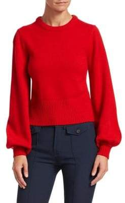 Chloé Iconic Cashmere Bell-Sleeve Sweater