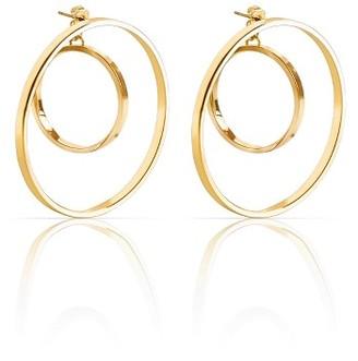 Women's Jenny Bird Rise Hoop Earrings $65 thestylecure.com