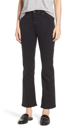AG Jeans 'Jodi' Coated Crop Flare Jeans