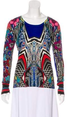 Etro Knit Long Sleeve Top