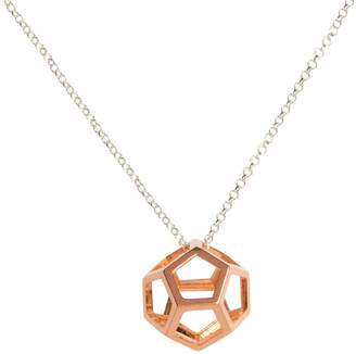 Matthew Calvin - Hollow Dodecahedron Pendant In Rose Gold
