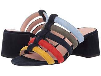 671bf9683a J.Crew Suede Strappy Penny Slide in Multi