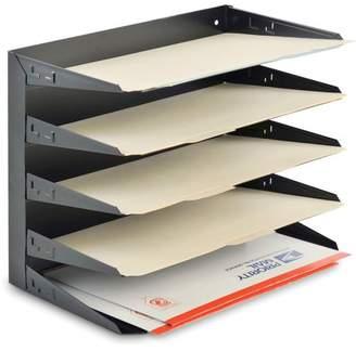 MMF Industries MMF, MMF2645HLBK, Horizontal Desk File Trays, 1 Each, Black