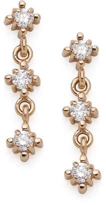Classic Jewels スウィング ダイヤモンド0.14ct ピアス ピンクゴールド