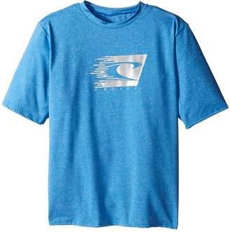 O'Neill Kids 24-7 Hybrid Short Sleeve Tee Boy's Swimwear
