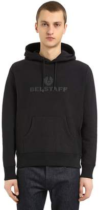 Belstaff Logo Patches Cotton Sweatshirt Hoodie