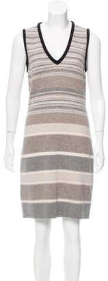 Fendi Wool Sleeveless Dress