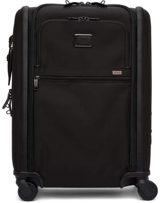 Tumi Black Alpha 3 Continental Expandable 4 Wheeled Carry-On Suitcase