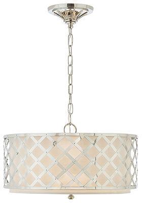 Lauren Ralph Lauren Lighting, Brooksend Polished Nickel Pendant