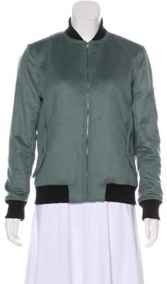 Rag & Bone Cashmere & Wool-Blend Bomber Jacket