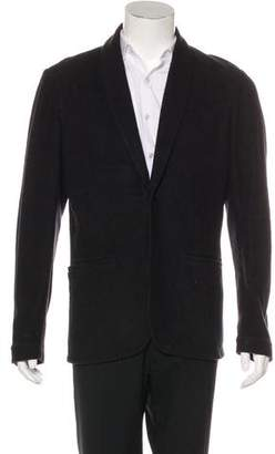 James Perse Deconstructed One-Button Blazer