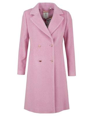 Ted Baker Chevron Wool Coat
